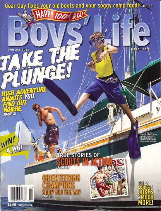 Boys Life Ages 7 to 14 Magazine Subscription
