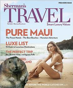 Shermans Travel Smart Luxury Travel Magazine Subscription