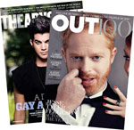Out and The Advocate Combo Magazine Subscription