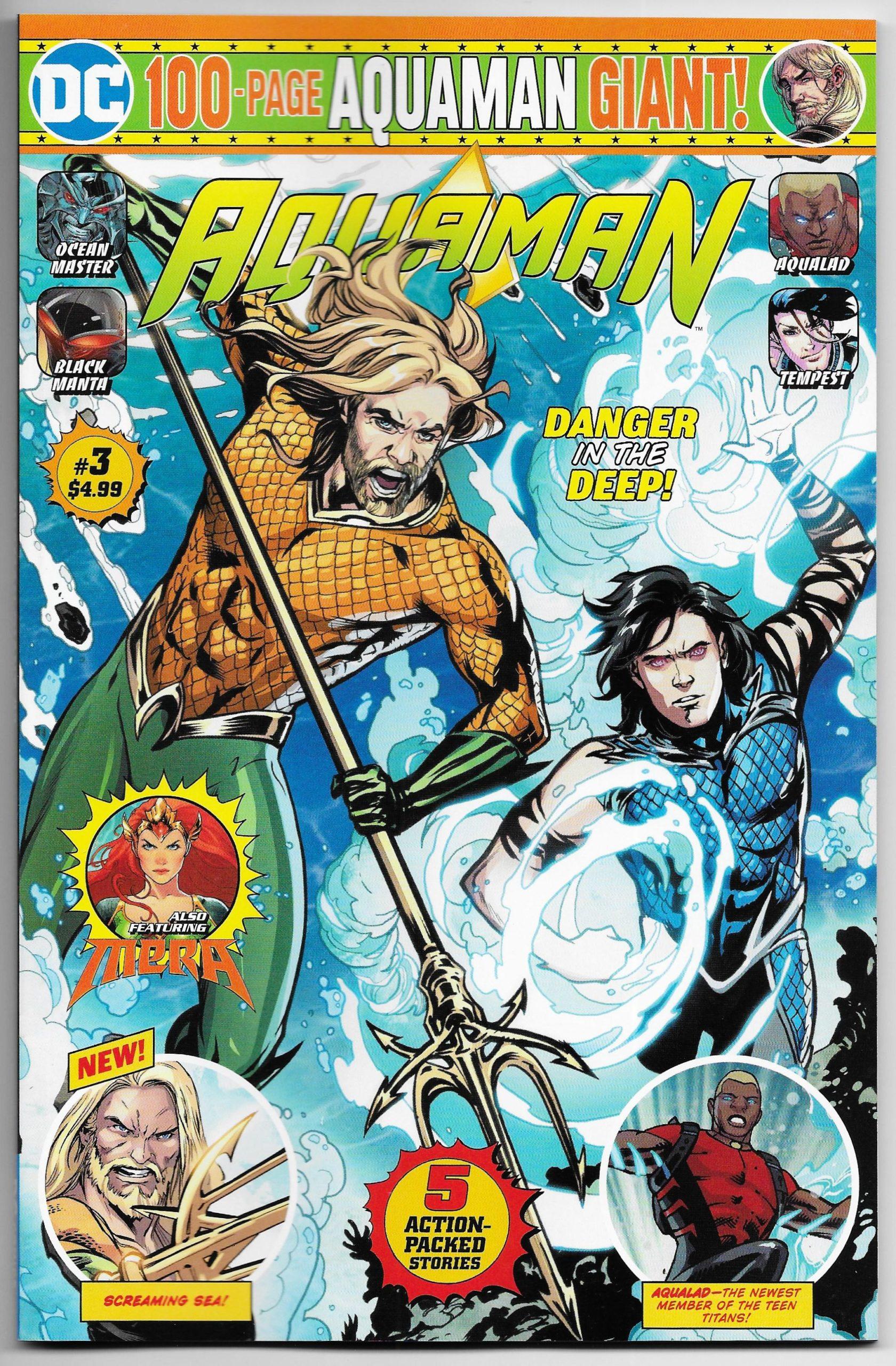 Aquaman Magazine Subscription