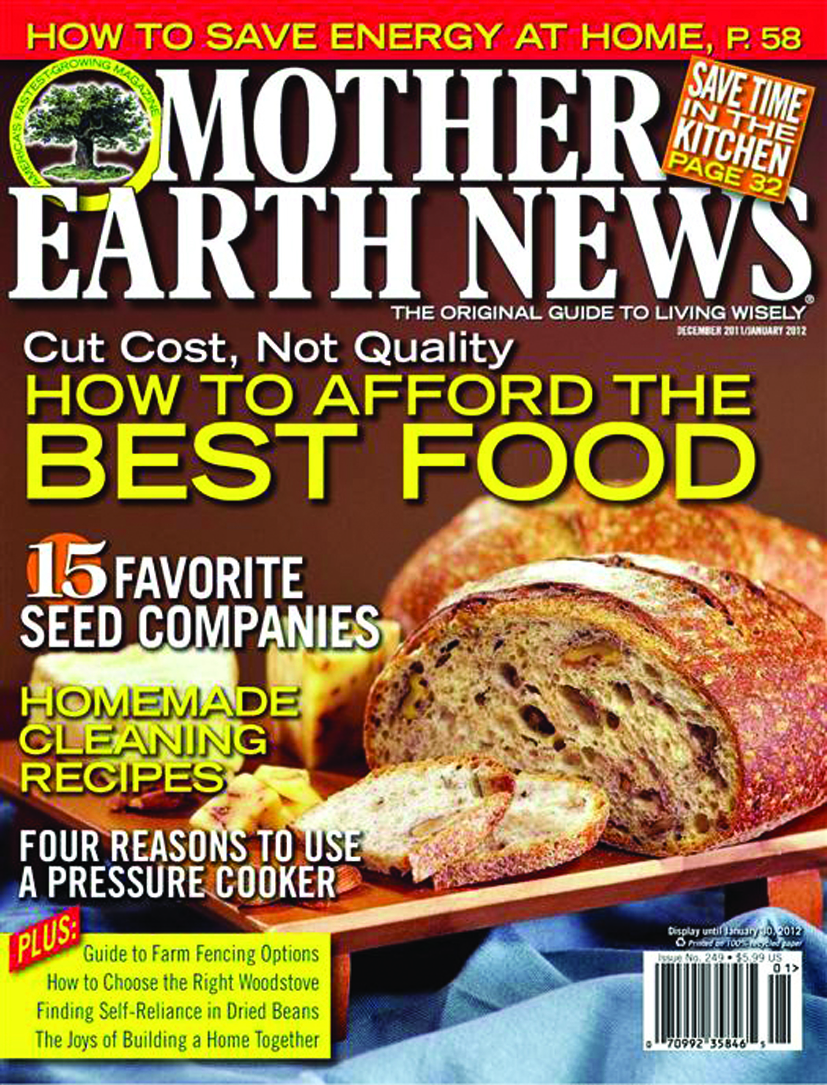 Mother Earth News Magazine Subscription
