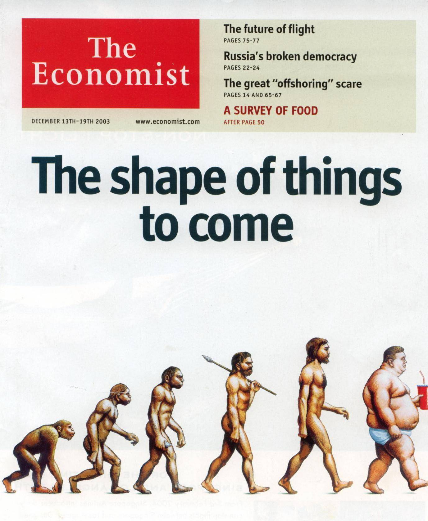 The Economist Print and Digital Magazine Subscription