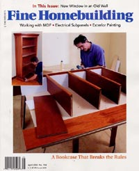 Fine Homebuilding Magazine Subscription From